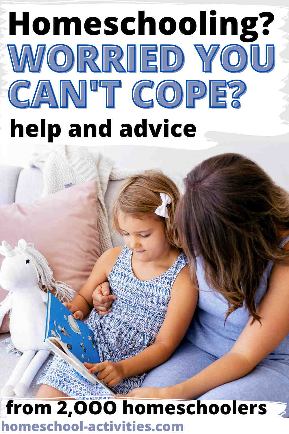 Home school fears: can I cope?