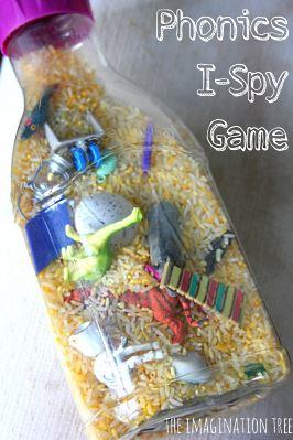 I-spy phonics game