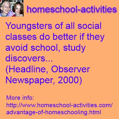 Home schooling research papers