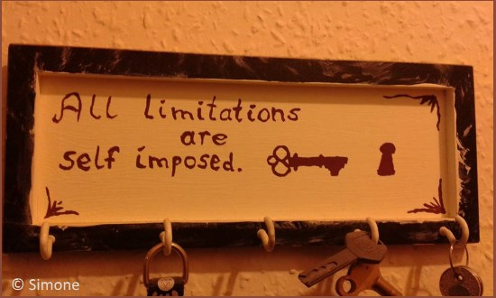 all limitations are self imposed