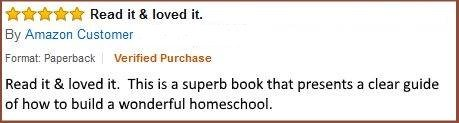 Amazon review Homeschool Secrets of Success