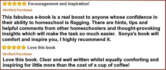 Amazon reviews Homeschool Secrets of Success