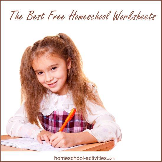 best free homeschool worksheets