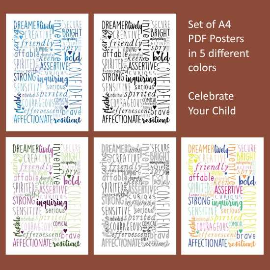 Celebrate your homeschool child's abilities and talents.