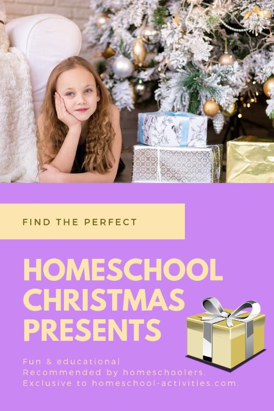 Christmas gifts for homeschoolers