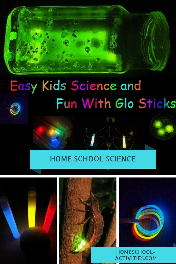 experiments with glow sticks