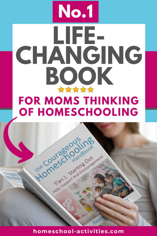 The Courageous Homeschooling Handbook for families thinking of starting teaching their child at home