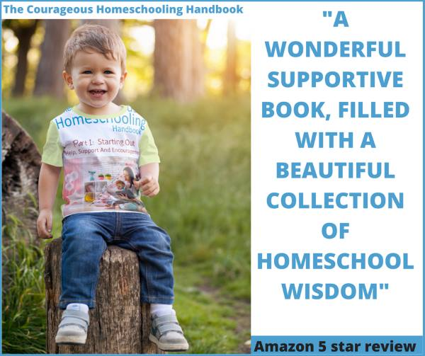 The Courageous Homeschooling Handbook with Amazon review