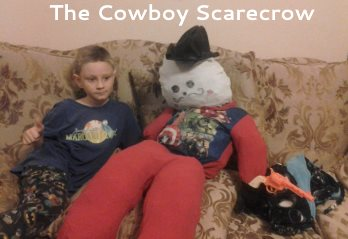 cowboy scarecrow