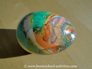 marbled egg