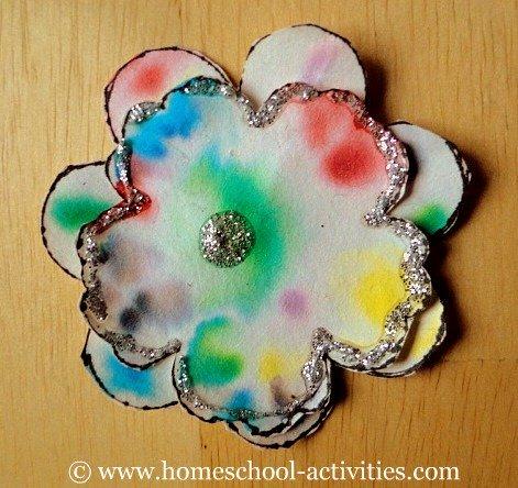 chromatography flower