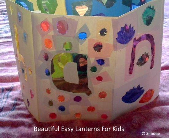 easy lanterns for kids