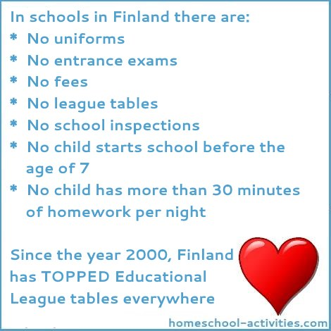 Facts about education in Finland.