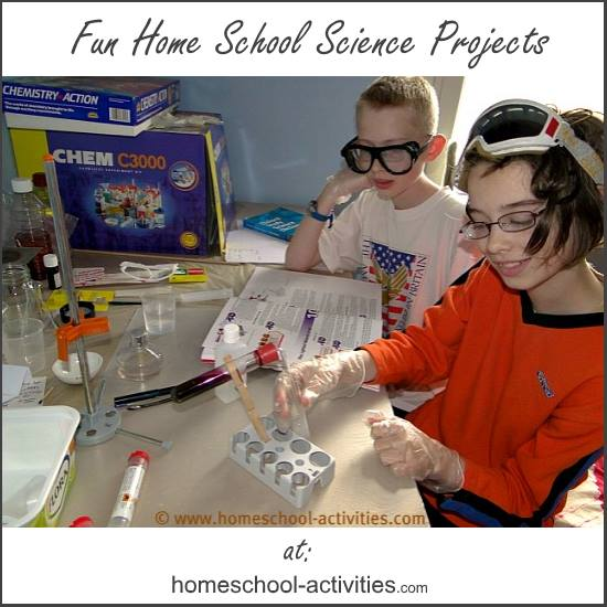 home school science