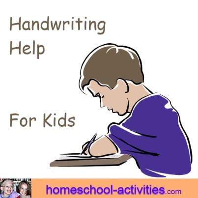 handwriting help for kids