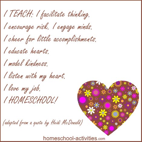 Quote from Heidi McDonald about loving teaching