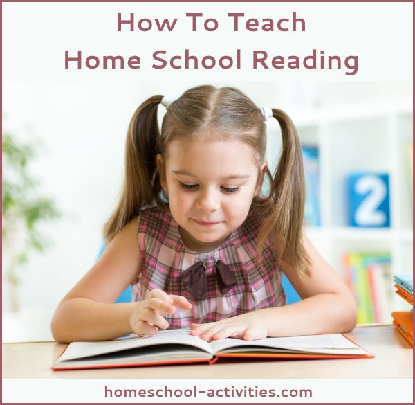 how to teach home school reading