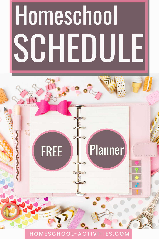 How to make a homeschool schedule