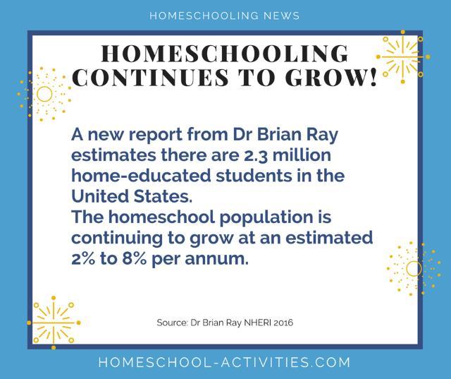 homeschool numbers increasing