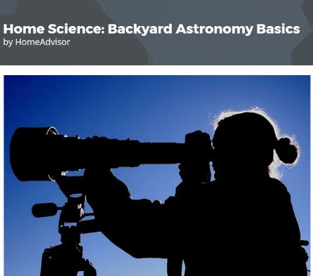 astronomy website