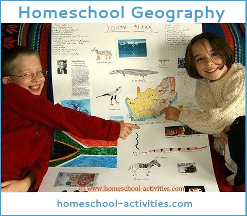 homeschool geography