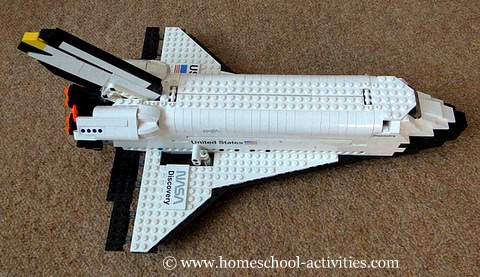 Discovery space shuttl