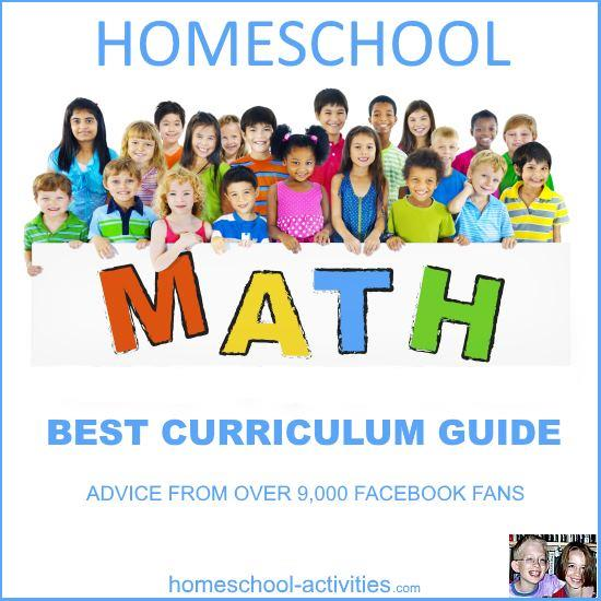 homeschool math curriculum guide