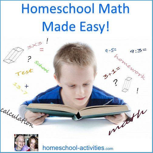 homeschool math made easy