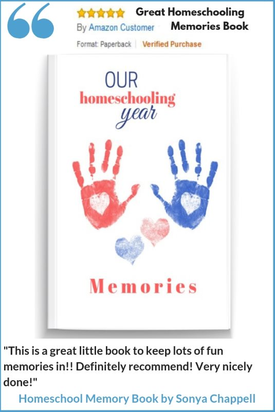 Homeschooling Memory Book