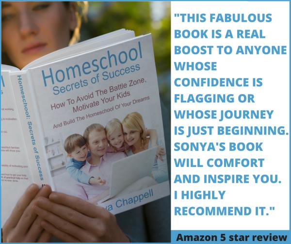 Homeschool Secrets of Success with 5 star Amazon review