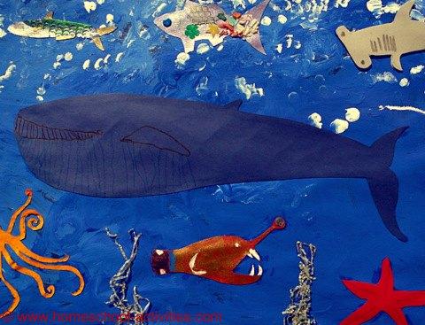 ocean collage
