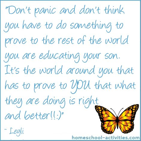 Quote from homeschool Mom