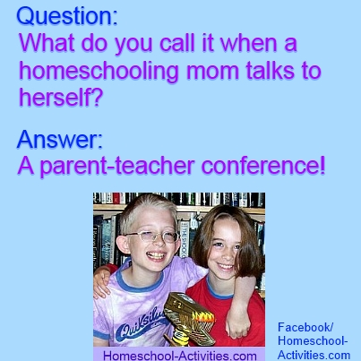 homeschooling joke