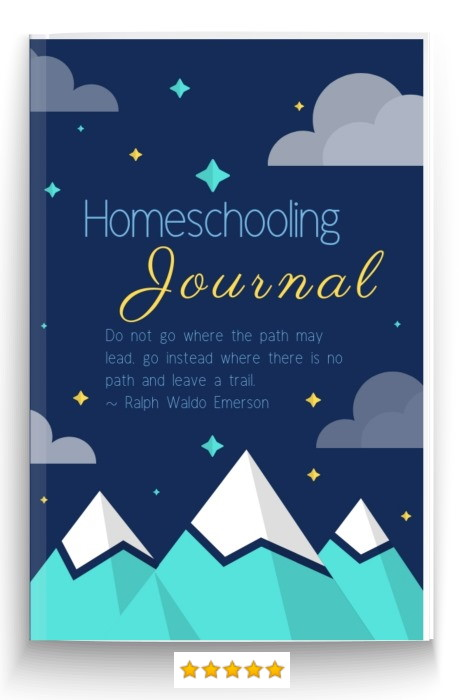 homeschool journal and notebook