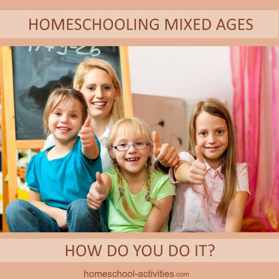 homeschooling mixed ages