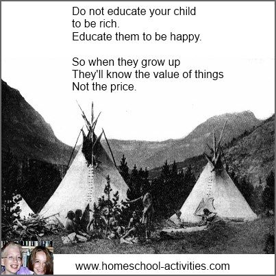 do not educate your child to be rich quote