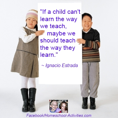 Quote about teaching the way kids learn