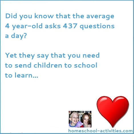 the average 4 year-old asks 437 questions a day