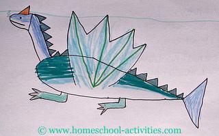 blue drago