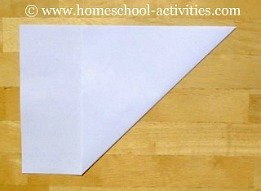 how to make paper airplanes step two