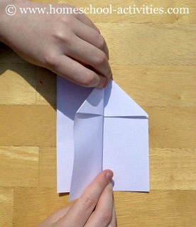 how to make paper airplanes step seven