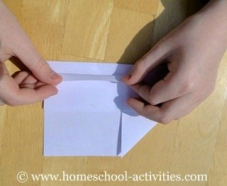 how to make paper airplanes step eight