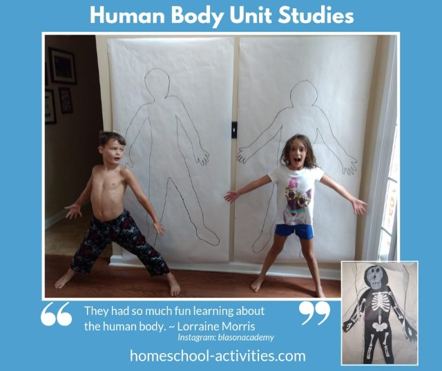 Human Body for kids Unit Study