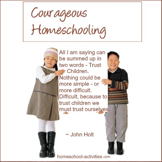 John Holt quote about trusting children
