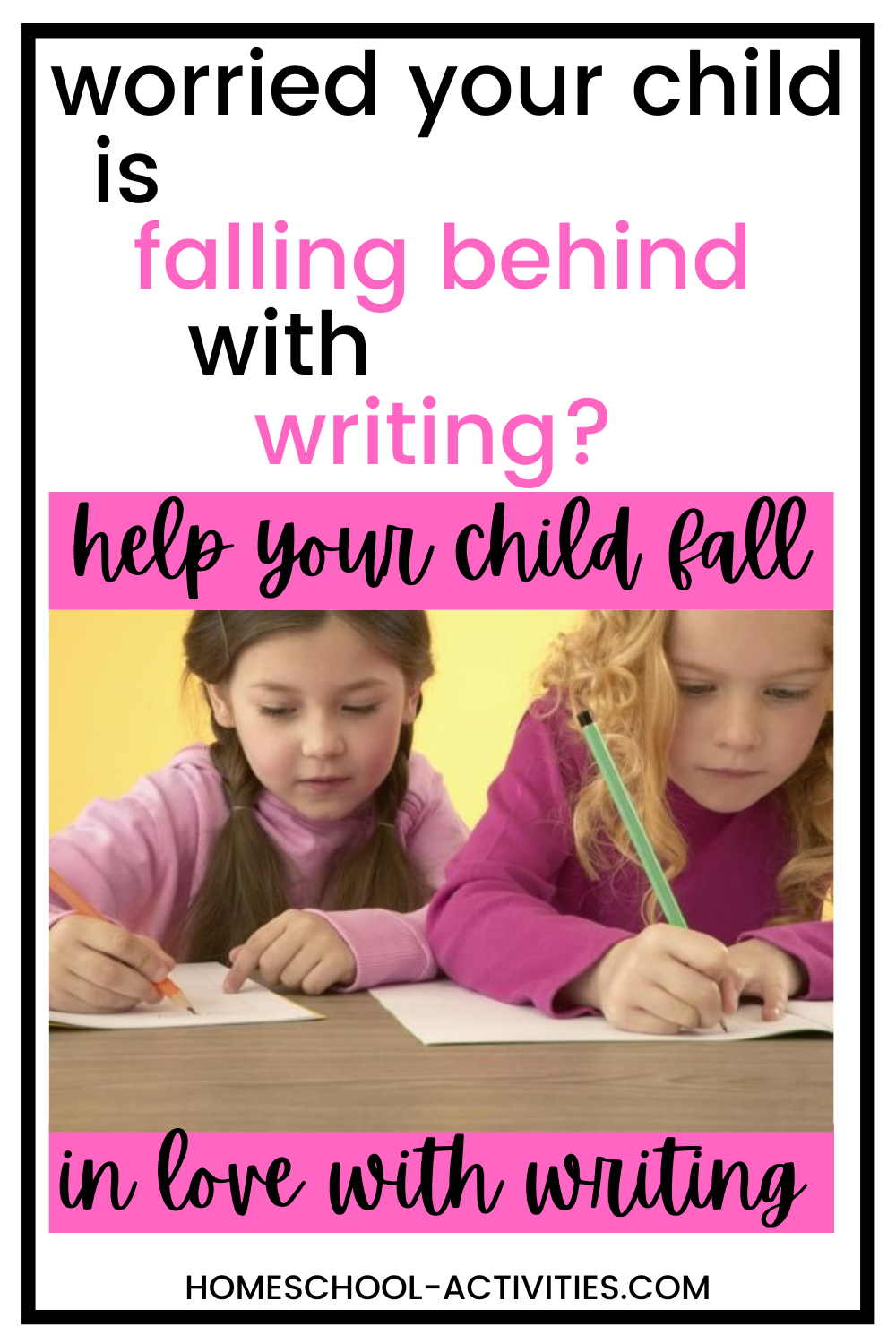 Creative writing tips, ideas and activities for kids