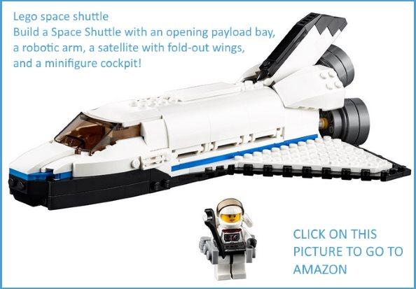 Lego space shuttle on Amazon