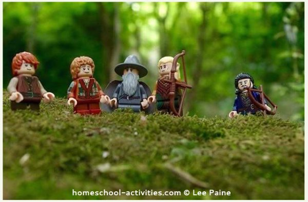 Lego photography mini figures Lord of the Rings