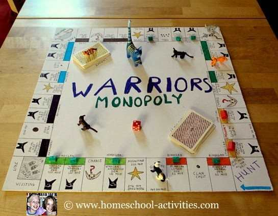 Warriors board game