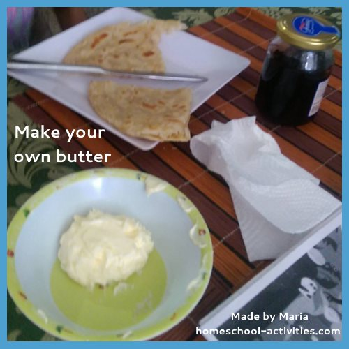 make your own butter