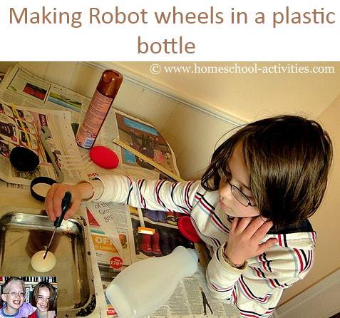 making robot wheels